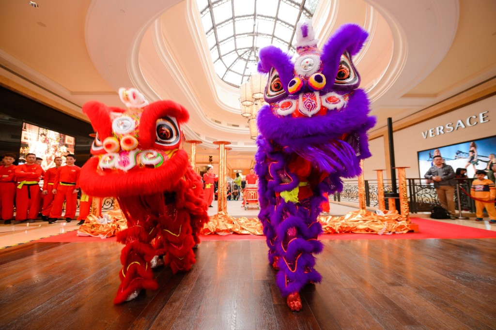 Lion Dance Blessing Ceremony at Soppes at Four Seasons